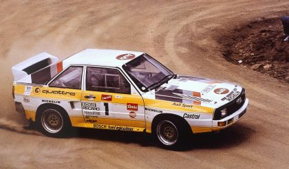 1984 Audi Sport Quattro Group B rally car 3