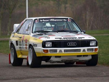 1984 Audi Sport Quattro Group B rally car 4