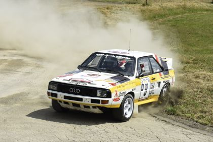 1984 Audi Sport Quattro Group B rally car 12