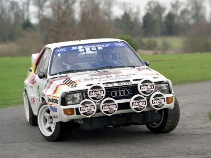 1984 Audi Sport Quattro Group B rally car 14