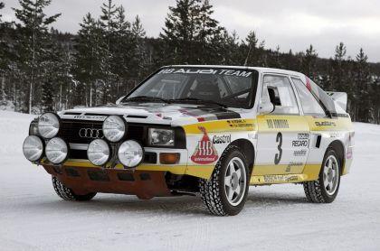 1984 Audi Sport Quattro Group B rally car 17