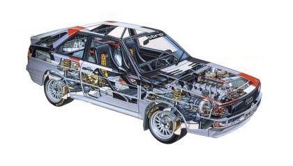1984 Audi Sport Quattro Group B rally car 29
