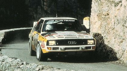1984 Audi Sport Quattro Group B rally car 2