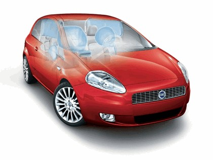 2005 Fiat Grande Punto Multijet 3-door 4