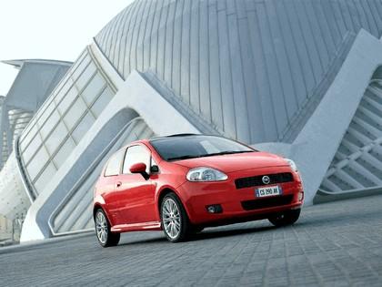 2005 Fiat Grande Punto Multijet 3-door with Panoramic Sunroof 14
