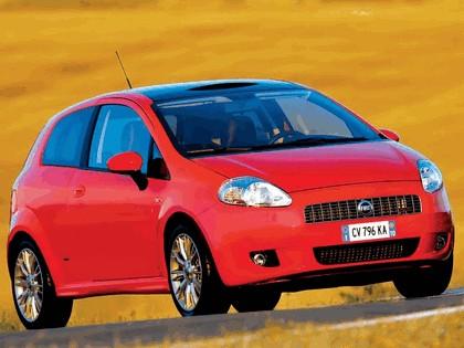 2005 Fiat Grande Punto Multijet 3-door with Panoramic Sunroof 21