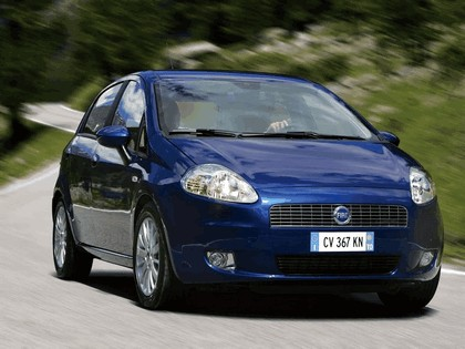 2005 Fiat Grande Punto Multijet 5-door 4