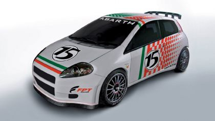 2005 Fiat Grande Punto Rally Super 2000 prototype 2