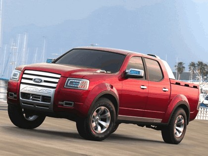 2005 Ford 4-Trac pick-up concept 13