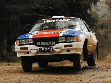 1982 Nissan 240RS Group B rally car 1
