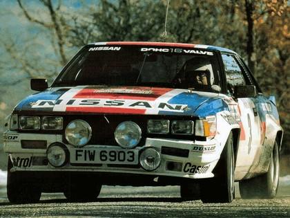 1982 Nissan 240RS Group B rally car 2