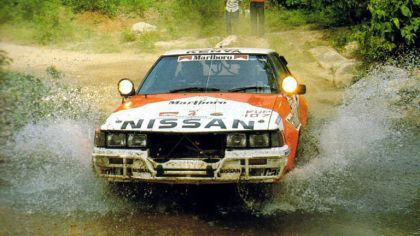 1982 Nissan 240RS Group B rally car 9