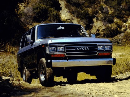 1987 Toyota Land Cruiser 60 ( FJ62 ) 1