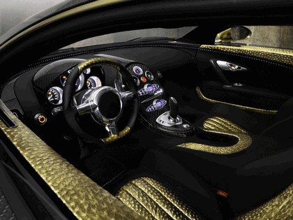 2010 Bugatti Veyron Linea Vincero dOro by Mansory 10