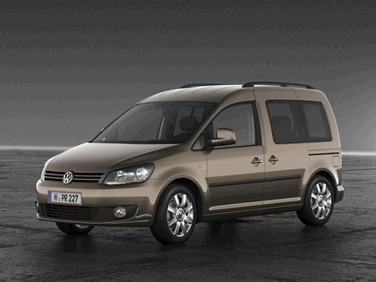 2010 Volkswagen Caddy Life 1