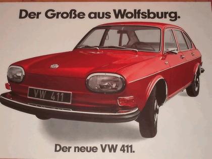 1968 Volkswagen 411 2