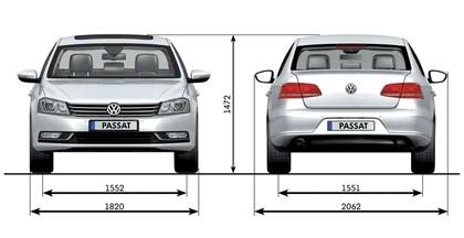 2010 Volkswagen Passat 24