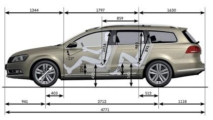 2010 Volkswagen Passat Variant 13