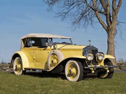 1929 Rolls-Royce Phantom Ascot Sport Phaeton I 2