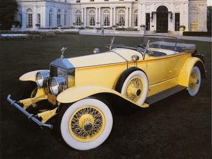 1929 Rolls-Royce Phantom Ascot Sport Phaeton I 6