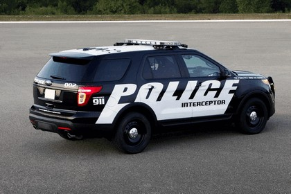 2010 Ford Police Interceptor Utility Vehicle 3
