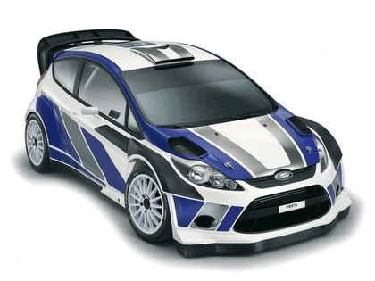 2011 Ford Fiesta RS WRC 2