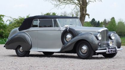 1949 Bentley mkVI Drophead coupé by Park Ward 7
