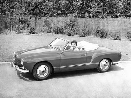 1957 Volkswagen Karmann-Ghia convertible ( Type14 ) 3