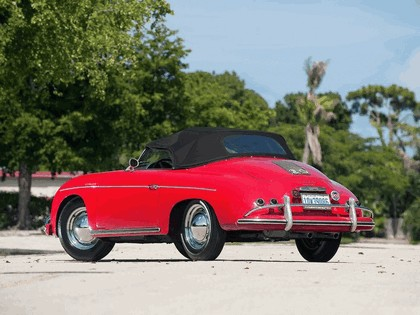 1956 Porsche 356A 1600 De Luxe Speedster 4