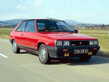1981 Renault 11 Turbo 3