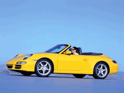 2005 Porsche 911 Carrera cabriolet 1