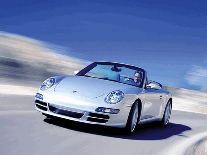 2005 Porsche 911 Carrera S cabriolet 1