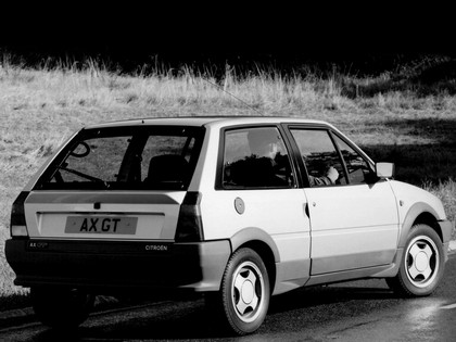 1986 Citroën AX GT - UK version 8