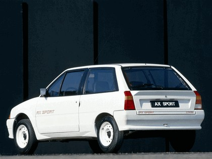 1986 Citroen AX Sport 3