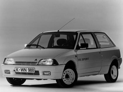 1986 Citroen AX Sport 8