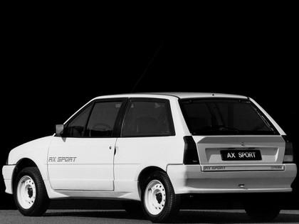 1986 Citroen AX Sport 9