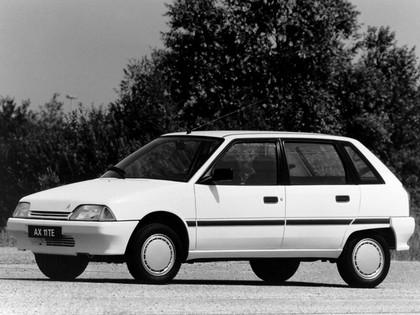 1988 Citroën AX 5-door 2