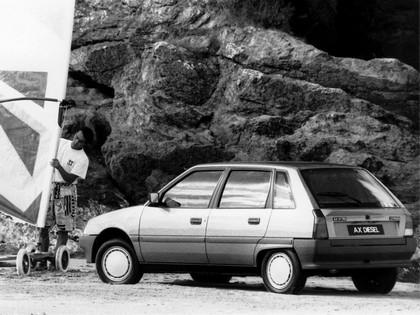 1988 Citroën AX 5-door 4