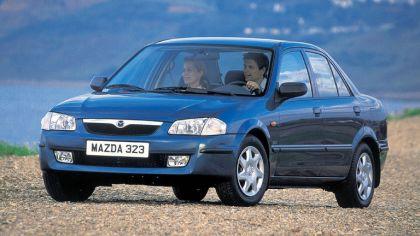 1998 Mazda 323 Sedan ( BJ ) 9