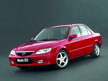 2000 Mazda 323 sedan ( BJ ) 1