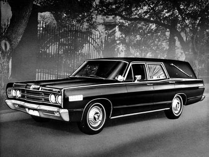 1967 Mercury Commuter Abbott And Hast Hearse 1