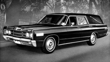 1967 Mercury Commuter Abbott And Hast Hearse 9