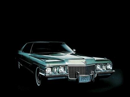 1972 Cadillac Calais coupé 1
