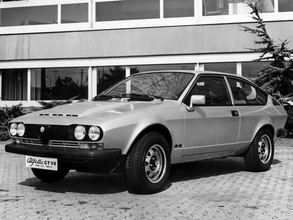 1977 Alfa Romeo Alfetta GT V8 2600 prototype 1