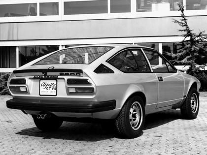 1977 Alfa Romeo Alfetta GT V8 2600 prototype 2