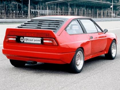 1982 Alfa Romeo Alfasud Sprint 6C prototype 3