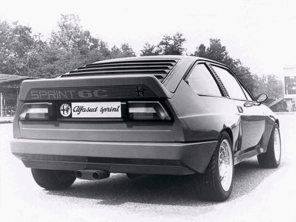 1982 Alfa Romeo Alfasud Sprint 6C prototype 10