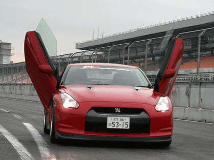 2009 Nissan GT-R ( R35 ) by LSD 2