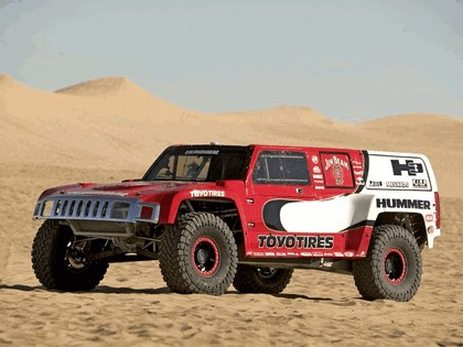 2005 Hummer H3 Dakar rally prototype 12