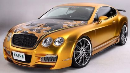 2008 Bentley Continental GTS Gold by ASI 4